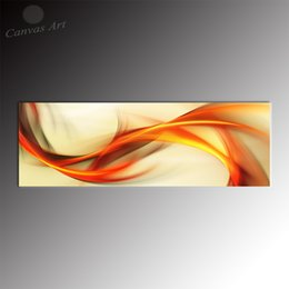 No Framed Wall Decor Painting Paneramic Design Abstract Cloud Giclee Prints forLiving Room Decoration