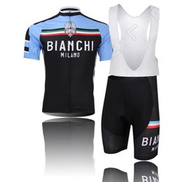 Wholesale 11 styles team bianchi bicycle men cycling jersey bike jersey maillot ciclismo KTM Ropa ciclismo MTB Cycling clothing BIB Shorts