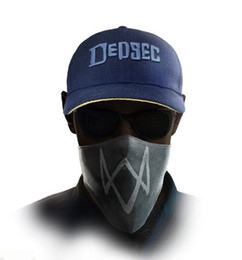 Venta al por mayor- 2016 nuevos perros de reloj 2 Aiden Pearce Iconic Cosplay Cap Hat juego de video WATCHDOGS Adjustable Baseball Caps desde fabricantes