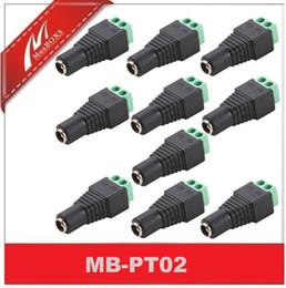 10PCS-Femelle DC Power Connector Terminal Plug Adaptateur Balun pour vidéo CCTV à partir de terminal vidéo fournisseurs