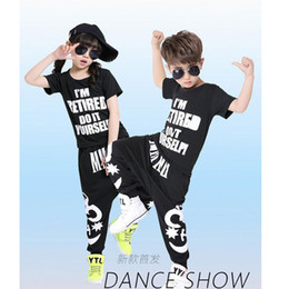 Adult Boys Modern Jazz Sweatpants + dancing Hoodie costumes Children's Ballroom Hip Hop Dancewear Kids Sport tracksuit outfits
