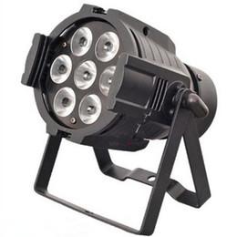 Professional Stage Light 70W 7*10W LED Par Light RGBW LED Lamp 8 Channel DMX 512 Control LED Projector DJ Party Disco Stage Par Light