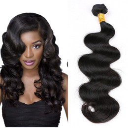 Anemone Virgin Brazilian Hair Bundles 1pc 8-36 inch Unprocessed Peruvian Body Wave Les tissus humains tissent des extensions Double Weft Livraison gratuite cheap 14 inches brazilian body wave à partir de 14 pouces brazilian vague de corps fournisseurs