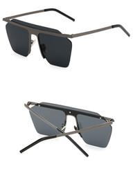 sunglass Fashion Brand Designer Reflective Coating Sunglasses Men Vintage Metal Steampunk Sun Glasses UV400 Metal Glasses
