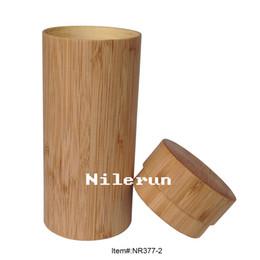 light and thin bamboo tube eyeglasses case box