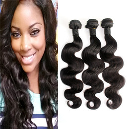Promotion 12 24 extensions Body Wave Brazilian Hair Bundles Suédois malien Indien Peruvian Remy Hair Weave Natural Color Hair Hair Extensions