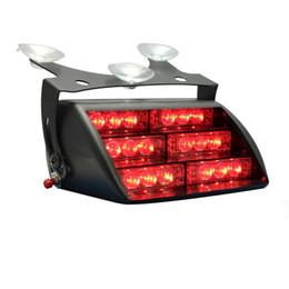 Red 18x LED Firefighter EMT Personal Emergency Vehicle Strobe Warning Dash Light