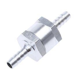 Wholesale Car Check Valve Aluminium Car Fuel Non Return Check Valve Single track Petrol Diesel One Way Petrol mm mm mm mm Can Choose