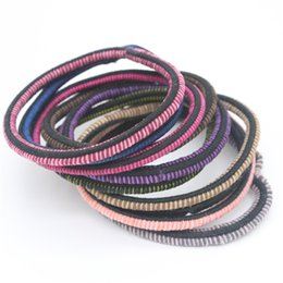 Jmyy Jewelry 2017 New Hair Accessories Colorful Hair Rubber Bands Multicolor Elastic Hair Jewelry For Women