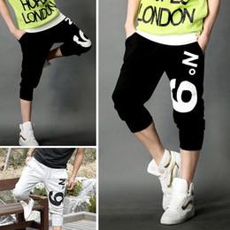 Casual Rope Men's Pants Wholesale Retail capris pants male trousers capris pants Size M-XXL