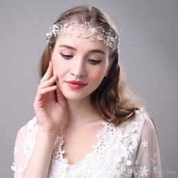 Acheter en ligne Mariage met en vente-2016 promotion de vente han édition set perle de luxe en cristal couronne noeud bande de cheveux pneu accessoires de mariage la demoiselle d'honneur acte rôle couronne