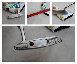 Wholesale Clean up the inventory golf putters Timeless SSS G Golf Putter Clubs quot quot quot Inch Steel Shaft With Head Cover vagar