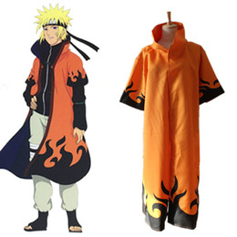 Naruto Uzumaki cosplay costumes Six generations Naruto cloak Japanese anime Naruto cloak halloween costume Masquerade costume