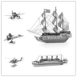 Wholesale Best feedback Hot sale Buy Puzzles in festival D Metal model aviation amp ship series Value preference price