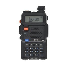 Wholesale Baofeng UV R Walkie Talkie Portable Analog Two Way Radio Handheld Intercom UHF VHF Amateur Long Range Transceiver