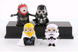Wholesale set cm Minion star wars Maul Darth Vader Stormtrooper Skywalker Model buliding kids Collectibles Christmas gifts Toys