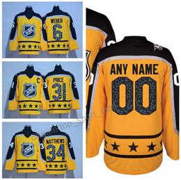Wholesale 2017 All Star Hockey Jersey Atlantic Yellow Shea Weber Carey Price Auston Matthews Tuukka Rask Victor Hedman Nikita Kucherov
