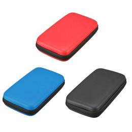 Promotion 3ds xl jeux Vente en gros- Nouvelle EVA Skin Carry Hard Case Bag Game Housse de protection Hard Travel Carry pour Nintendo 3DS XL LL EM88