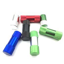 Pollen Compresor Quality Aluminum Pollen Press Smoke Pressure Device for Tobacco Pipe herb smoke grinder hookah