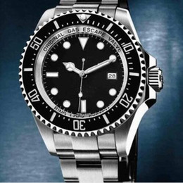 Wholesale HOT New high Luxury Christmas gift automatic Mechanical men Watches brand dweller sea stainless steel black dial mens dress wristwatch