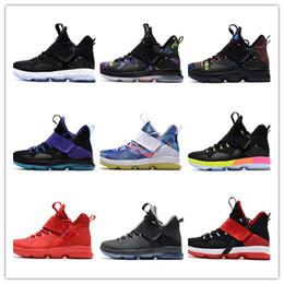 Wholesale New arrive james XIV Rio glow Coast LB Men Basketball shoes women sports shoes sneakses trainers double box size