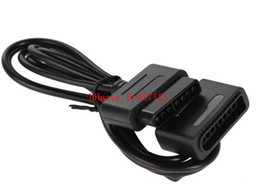 2017 extensión del controlador Nuevos cables de extensión de 1,8 m 6 pies para SNES Super para Nintendo 16 Bit adaptador de cable de controlador extensión del controlador limpiar