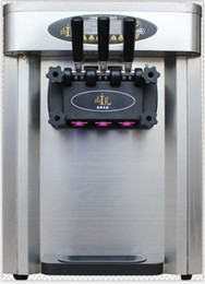 Wholesale Free Tax L smart soft serve ice cream machine commercial soft ice cream maker table model v v