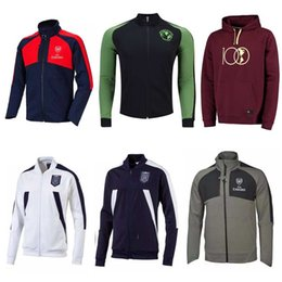 Wholesale 2017 CLUB AMERICA Years Centenary Hoodie Jackets training suits tracksuits football shirts Italy jacket pants