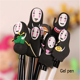 Wholesale Cute host Gel Pens For Writting Japan Spirited Away kawaii Pen Gift Stationery Office School Writing Supplies