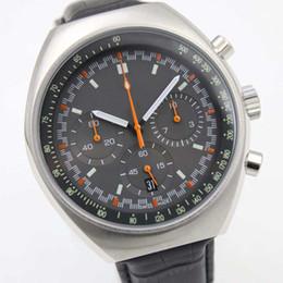 Wholesale - Luxury High Quality 1969 Super LumiNova 46mm Mark II 327.10.43.50.06.001 VK Quartz Chronograph Working Mens Watch