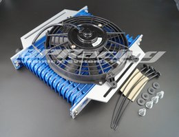 Wholesale 16 rows AN10 High Performance Transmission Engine Oil Cooler FAN BRACKET