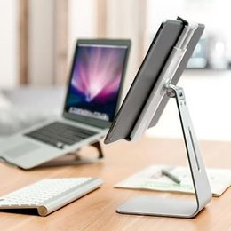 360° Rotatable Desktop Stand for Apple iPad Pro Samsung Microsoft 7''-13''Tablet