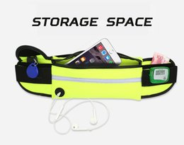 Wholesale Universal inch Waterproof Sports Running Waist Pocket Pouch Belt Case Bag For iPhone Plus S S Samsung S7 edge S6 Note Free DHL