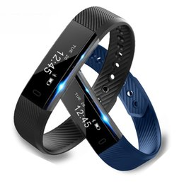 Activity Fitness Tracker Smart Bracelet Step Counter Activity Monitor Band Alarm Clock Vibration Wristband for iphone Android phone