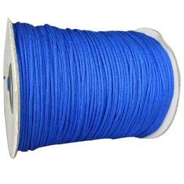 1.5mm Royablblue Rattail Stain Braid Nylon Cord+Braided Nylon Macrame Rope Shamballa Bracelet Cord String Accessories 200m Roll