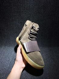 Wholesale Boost Kanye West Zapatos marrón Al aire libre Zapatillas Sneakeheads Zapato Zapatillas de baloncesto Zapatillas de deporte baratos Boost Men Sports Casual Boosts