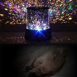 Canada Vente en gros - Nouveau 9 Design Galaxy LED Light Star Master Sky Projecteur Enfants Fantastic Night Light Colorful Magic Nouveauté Light pour Kid Gift supplier magic star light Offre