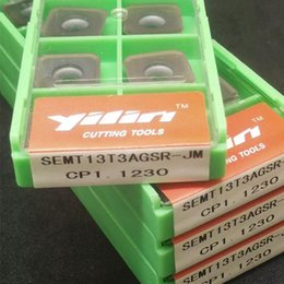 Wholesale Carbide Milling Insert SEMT13T3SGSR JM CP1 Coated for Steel Made In China Face Milling Low Cost By YILIN in shanghai