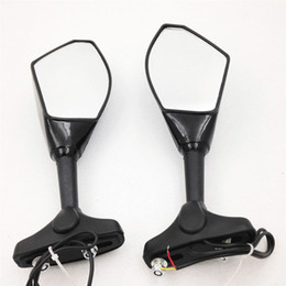 New urn Signal Integrated Mirrors Black For Honda CBR900 929 954 CBR900RR 1993-2004, CBR1000 CBR1000RR 2004-2007, CBR 125R 150R 250R (2011-)