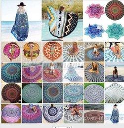 Round Bikini Cover Ups Beach Beach Towel Bikini Cover Ups Bohemian Hippie Beachwear Chiffon Beach Sarongs Shawl Bath Towel Yoga Mat B344 10
