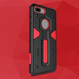 Protection téléphone cellulaire à vendre-Nillkin Defender 2 génération pour iPhone 7 cas 2 en 1 étuis pour téléphone cellulaire anti chute de luxe protection de téléphone portable protection 30pcs