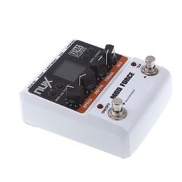 Efectos de modulación en venta-NUX Mod Force Pedal de Efecto de Guitarra Eléctrica Pedales de Efectos de Alta Calidad 12 Multi Modulation Color Screen