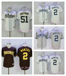 johnny manziel jerseys Promotion Johnny Manziel Jersey Trevor Hoffman San Diego Padres Flexbase Maillot de baseball Cool Base Grey White Coffee Accueil cousu