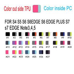 Wholesale De Buena Calidad Cubierta de la caja de la robusteza de la PC TPU con el Stander y la caja al por menor del plástico para el iPhone S S más el borde de Samsung S8 S5 S6 S7 más nota