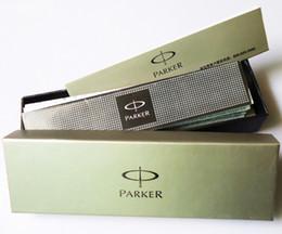 Cartuchos de tinta de la fuente al por mayor en venta-Reemplazo de la caja de lápiz de la caja de la pluma de la caja de la pluma de Wholesale-Genuine PARKER como paquete de los efectos de escritorio del regalo