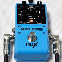 Efectos de modulación en Línea-MOD Core Pedal de Guitarra 8 efectos de modulación Preset Tone Lock Guitarra de Pedal de Efecto de Guitarra de Alta Calidad Nux Parts Accessories