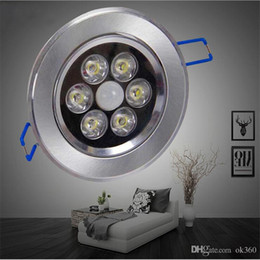 Wholesale 4W W W W LED motion sensor ceiling light for bathroom hallway Aluminum material ceiling light fixture lighting IR Motion lamp