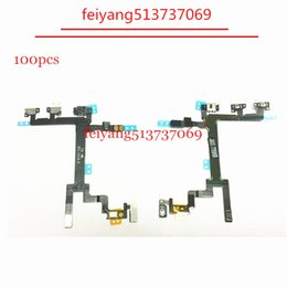 100pcs Original new Power Button Switch On Off Flex Cable For Iphone 5 Replacement Part