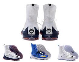 Cheap Kevin Durant KD 8 VIII Élite Sneakers Hommes Noir Or Blanc pour Hommes Basketball Sports chaussures taille us 7-12 Livraison gratuite à partir de kd chaussures hommes taille 12 fournisseurs