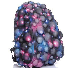 Скидка синяя панель Нейлоновые рюкзаки панели Mens 3D синий черный Холст плечо сумки для подростков бесплатная доставка